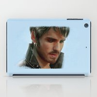 captain iPad Cases featuring Captain by LindaMarieAnson
