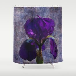 Captivating Iris Shower Curtain