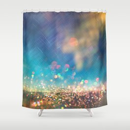 Dazzling lights I Shower Curtain