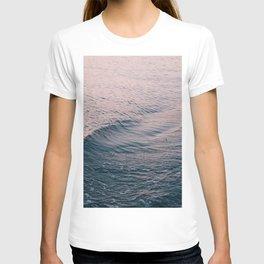 Pink Sunset Waves T-shirt