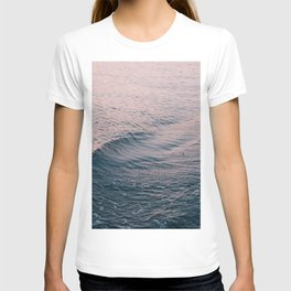Pink Sunset Waves T-shirt