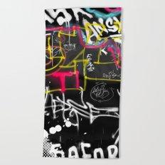New York Traces Beach Towel