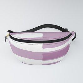 Big Stripes in Purple Fanny Pack