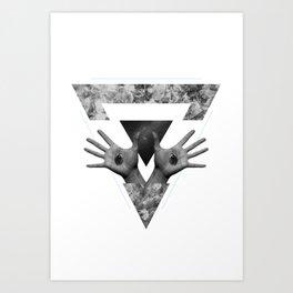 Hº Art Print