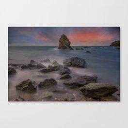 Rhoscolyn Rocks Canvas Print