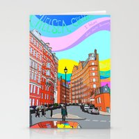 chelsea Stationery Cards featuring Chelsea by Emanuele Taglieri