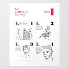 The Illuminated Mixtapes, Series 1 Art Print
