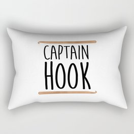 Captain Hook Rectangular Pillow