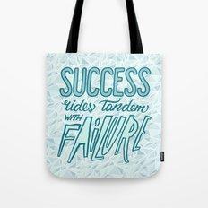 Success Rides Tandem Tote Bag