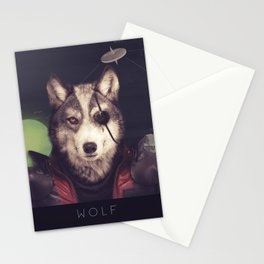 Star Team - Wolf Stationery Cards