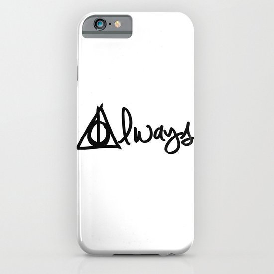 Always, Deathly Hallows, Harry Potter iPhone & iPod Case