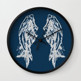 Midnight Flight Wall Clock