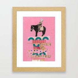 Higher Ground- Ellie Framed Art Print