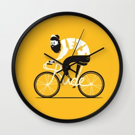 Let's ride Wall Clock