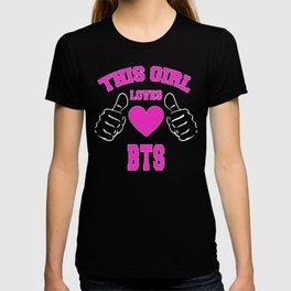 BTS merch for girls T-shirt