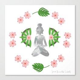 Zen Bali Buddha Canvas Print