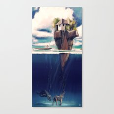 Dream Island Canvas Print