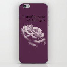 I just iPhone & iPod Skin