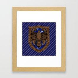 HP Ravenclaw House Crest Framed Art Print