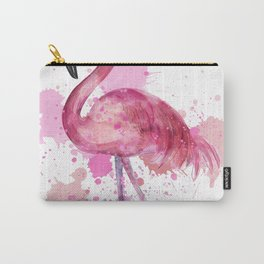 Pretty Flamingo Carry-All Pouch