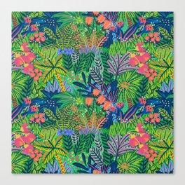 Laia&Jungle Canvas Print
