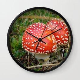 Schrooms! Wall Clock