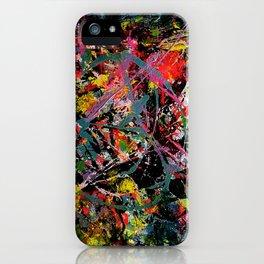 Disaster man iPhone Case