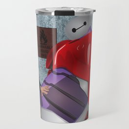 Big Hero 6 Fan Art Travel Mug