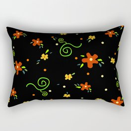Giulia's Flowers Rectangular Pillow