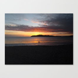 Sunset and You Canvas Print