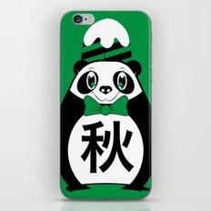 Aki - Season bear Autumn iPhone & iPod Skin