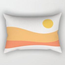 Geometric Landscape 22 Day Rectangular Pillow