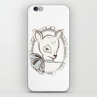 bambi iPhone & iPod Skins featuring BAMBI by TOO MANY GRAPHIX