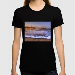 A High Tide Morning * Huntington Beach Pier T-shirt