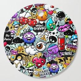 graffiti fun Cutting Board