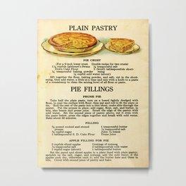 Pies - Vintage Metal Print