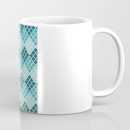 Indie Spice: Turquoise Cross Hatch Coffee Mug