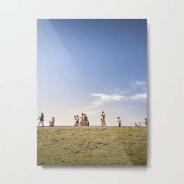 WORLD CUP 2014 way to the game Metal Print