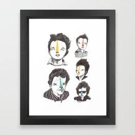 All Bobs Framed Art Print