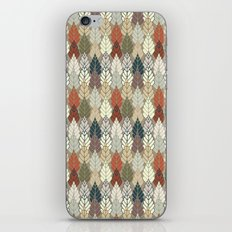 Trees Forest Pattern iPhone & iPod Skin