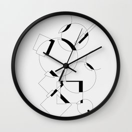 Where does a thought go when it's forgotten? 1-6 Wall Clock