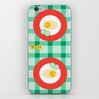 breakfast iPhone & iPod Skins featuring breakfast by vitamin