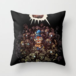 More BRAINS for OZ Throw Pillow