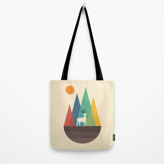 Step Of Autumn Tote Bag