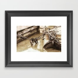 Fisherman's Knot Framed Art Print