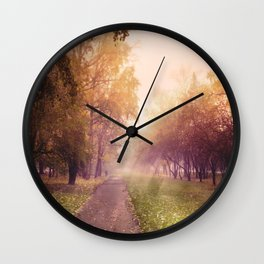 (It's) just a way home... Wall Clock