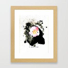sweet briar Framed Art Print