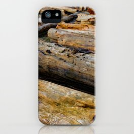 Driven Driftwood iPhone Case