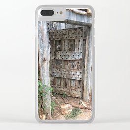 Open doors... Clear iPhone Case