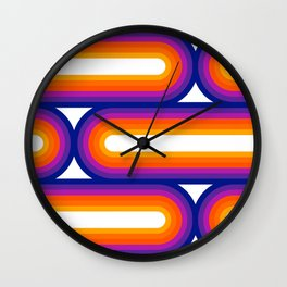 Side Bow Wall Clock